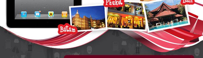 Free Batam, Phuket and Bali trip for 2pax